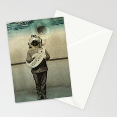 the diving bell Tuba quintet Stationery Cards