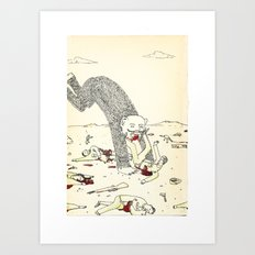 Pey Monster Art Print
