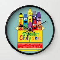 Color Me Sesame Wall Clock