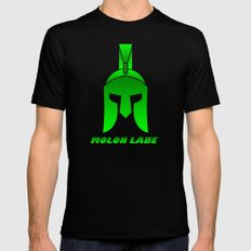 Molon Labe Black SMALL Mens Fitted Tee