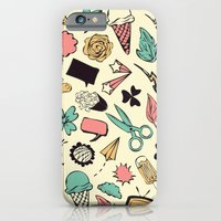 iPhone & iPod Case featuring Doodles by Gal Ashkenazi