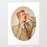 Robert Lutece Art Print
