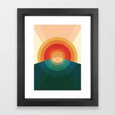 Sonar Framed Art Print