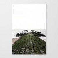 Look At The Sea Canvas Print
