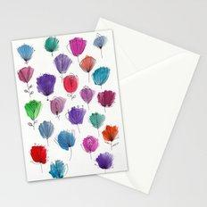 Flower Pattern Stationery Cards