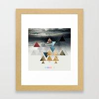La Conquête Framed Art Print