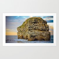 Marsden Rock Art Print