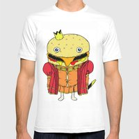 Royale With Cheese Mens Fitted Tee White SMALL