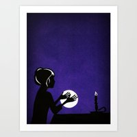 The Fortune Teller Art Print