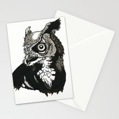 Eastern Screech Owl Stationery Cards