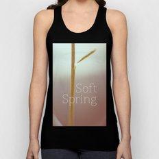 Soft spring Unisex Tank Top