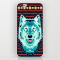Geometric Wolf  iPhone & iPod Skin