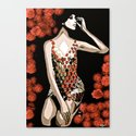 Lovely Luna More Beautiful Than A Rose c 1966 Canvas Print