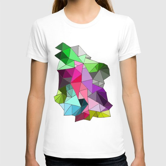 perfect colors in an imperfect configuration T-shirt