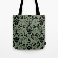 Grass Type Damask Tote Bag