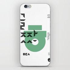 vol.3 nº1 iPhone & iPod Skin