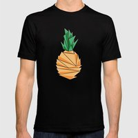 P-NAPPLE Mens Fitted Tee Black SMALL