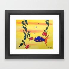 Contact Framed Art Print