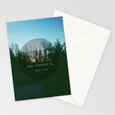 Two Roads (Text Version) Stationery Cards