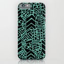 Up/Down (mint) iPhone & iPod Case