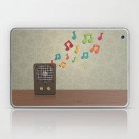 Speak To Me With Music Laptop & iPad Skin
