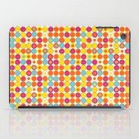 Funny Polkas-Yellow And … iPad Case