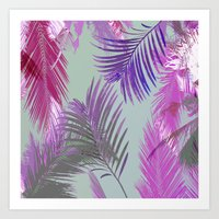 California Dreaming Purple Art Print