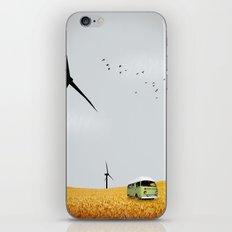 green wagon iPhone & iPod Skin