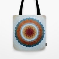 Toroidal Floral (ANALOG zine) Tote Bag