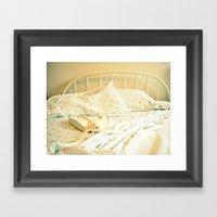 Sunday Morning ~ Vintage… Framed Art Print