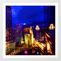 Chicago 002 Art Print