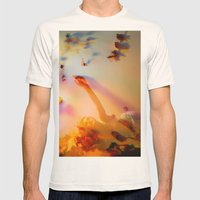 Blooming Colors Mens Fitted Tee Natural SMALL
