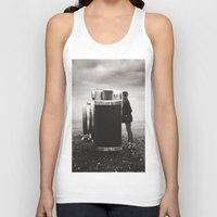 Looking Through Time Unisex Tank Top