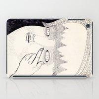 Lente De Contacto iPad Case