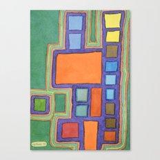 Modern Earthquake Safe Home Canvas Print