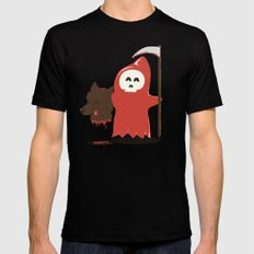 Little Death Riding Hood Mens Fitted Tee Black SMALL