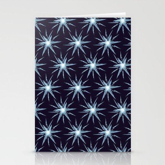 Christmas Card - Snowflake 3 Stationery Card