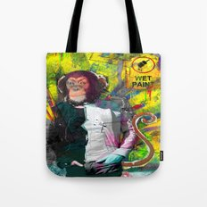 Wet paint. Tote Bag