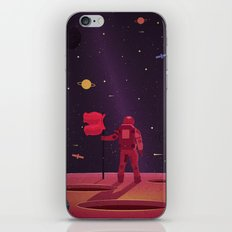 SPACEMAN WENT TRAVELLING iPhone & iPod Skin