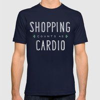Shopping Counts As Cardi… Mens Fitted Tee Navy SMALL