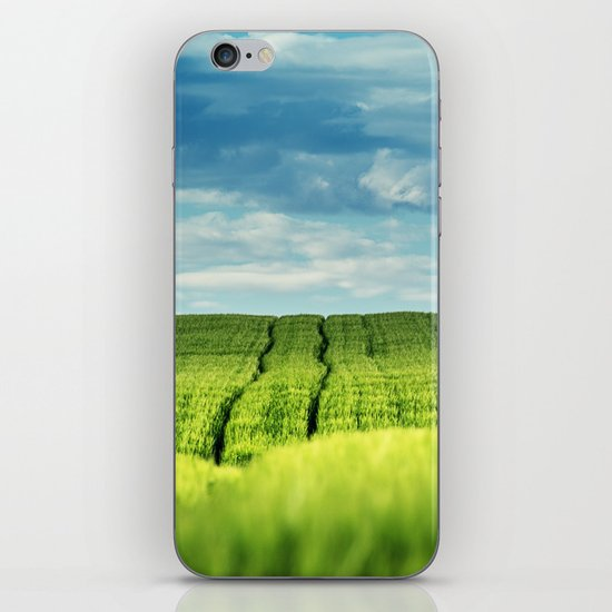 Fields of Green iPhone & iPod Skin