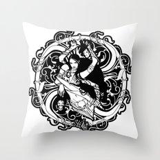 Kali Throw Pillow