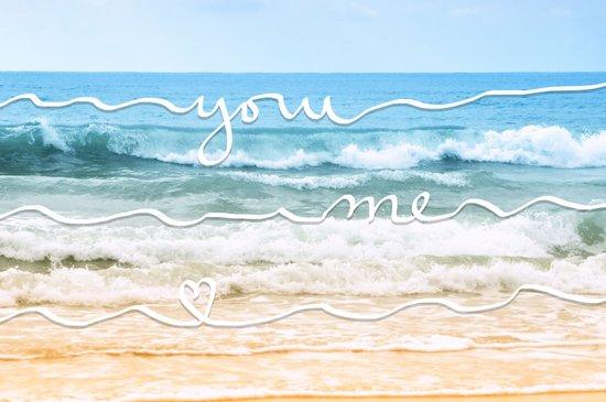You - Me Art Print
