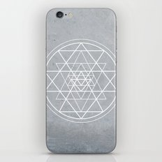 Sacred Geometry - Align At Your Center iPhone & iPod Skin