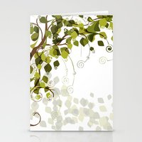 Jungle Swirls And Twirls Stationery Cards