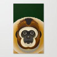 Gibbon Canvas Print