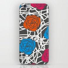 MULTI ROSE SQUIGGLE iPhone & iPod Skin