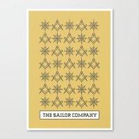 The sailor company V2.0 Canvas Print