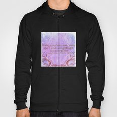 Parting is such bitter sweet sorrow - Romeo & Juliet Quote Hoody