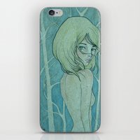 ...come with me... iPhone & iPod Skin